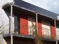 Maison bois à Hédé-Bazouges - Détail