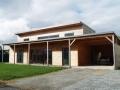 Maison bois à Chantepie
