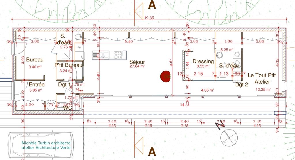 Plan Maison Terrain En Longueur Plan Maison Terrain En Longueur