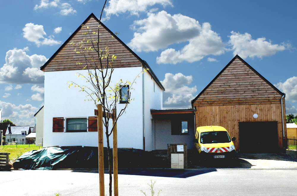 Albums atelier architecture verte - Maison passive renovation ...