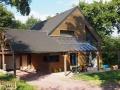 Maison Bois sous les arbres -Treffendel