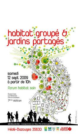 7 me dition du forum habitat sain de h d bazouges for Forum habitat plus