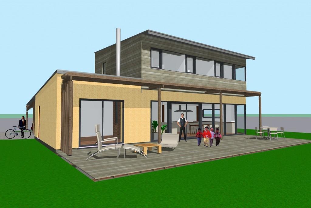 Maisons individuelles atelier architecture verte for Atelier maison verte
