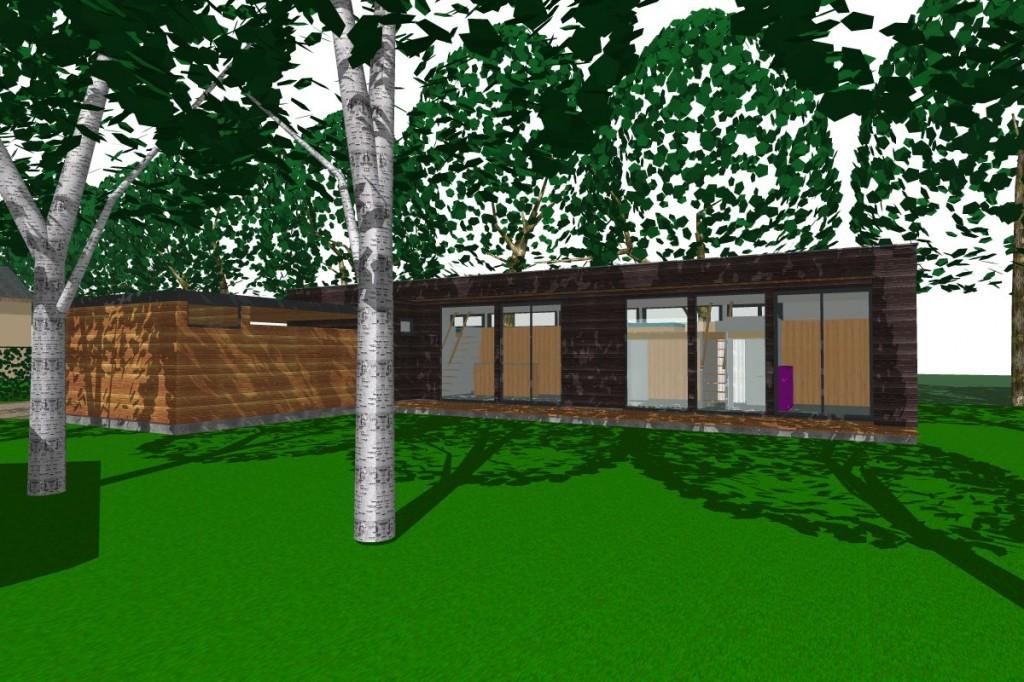 La maison dans les arbres atelier architecture verte for Atelier maison verte