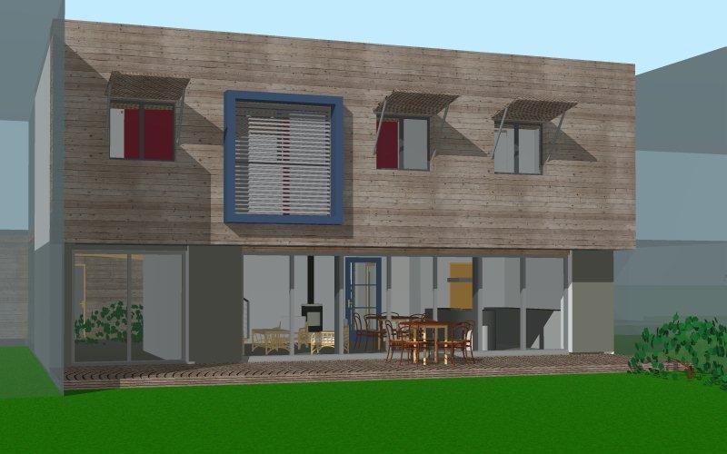 Maison passive Romillé-3d