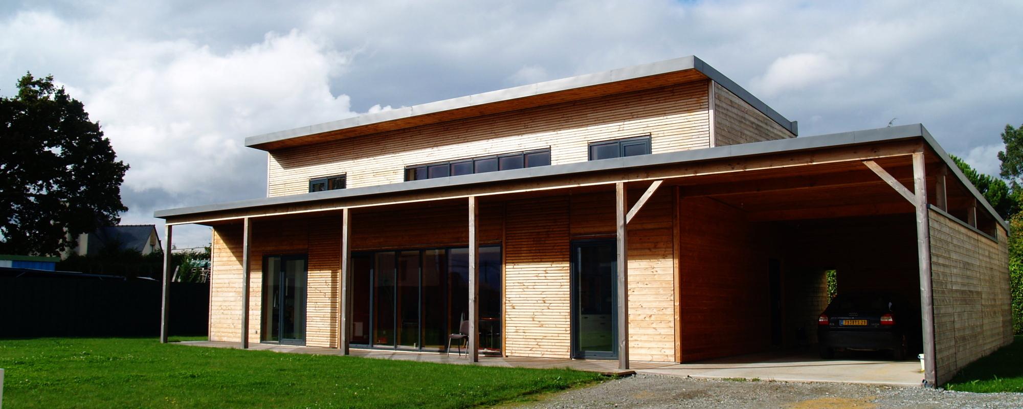 Habitation bioclimatique BBC  2010NC  Atelier Architecture verte