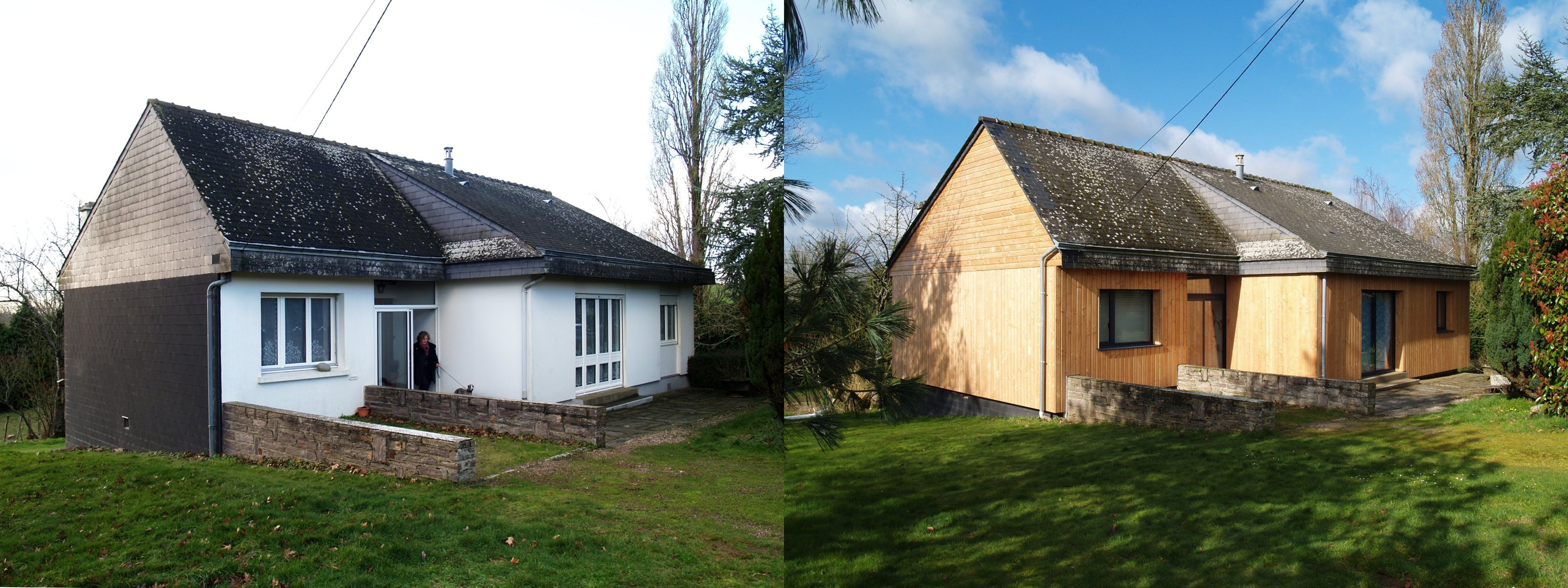 Rénovation thermique _ 2012-2013 - Atelier Architecture verte