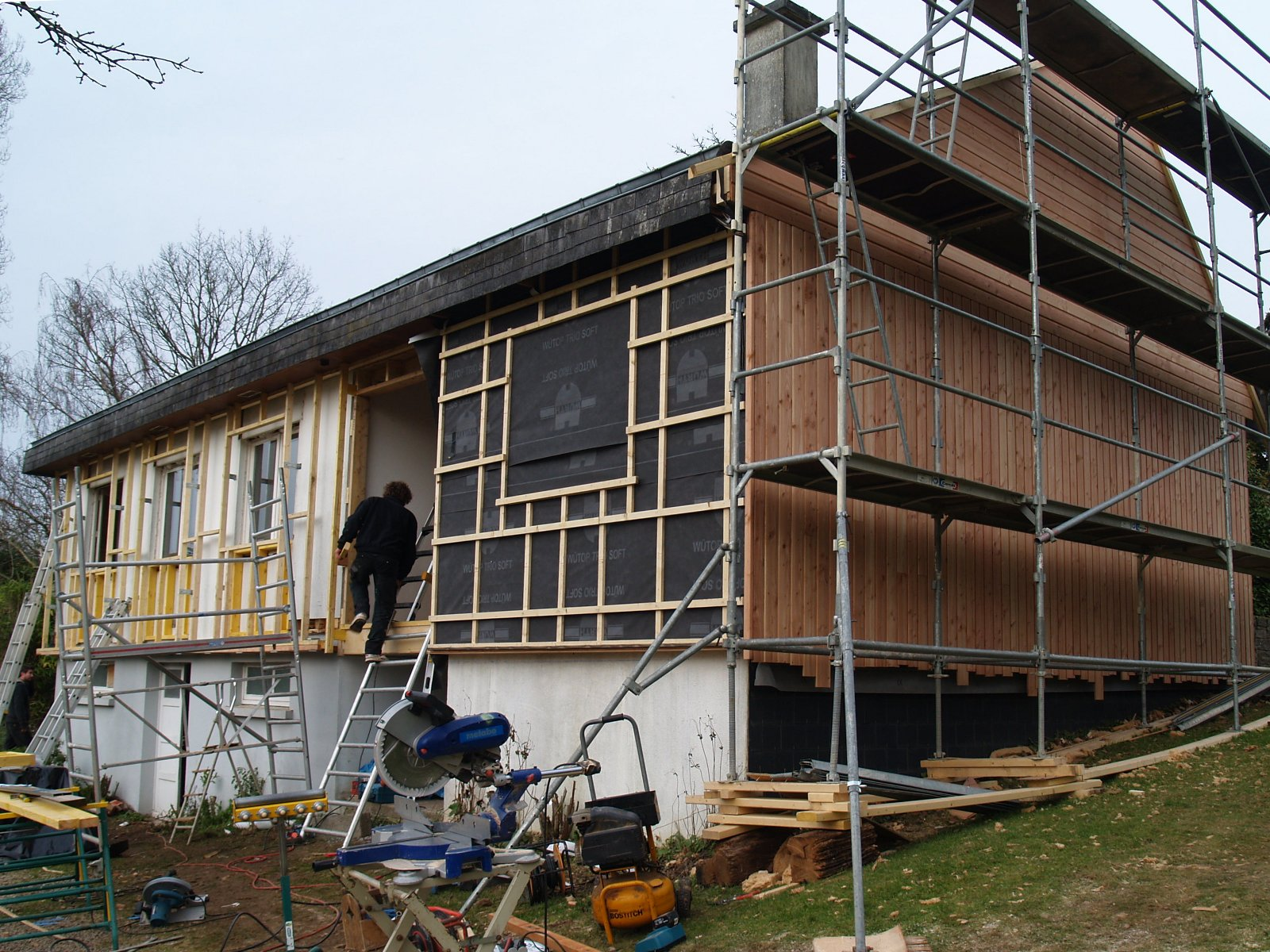 R novation thermique 2012 2013 atelier architecture verte - Renovation maison avant apres travaux ...