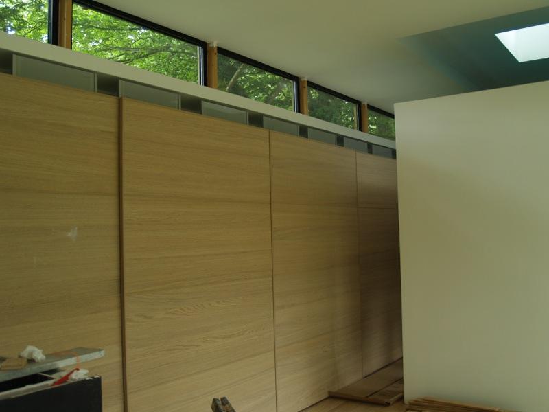 La Maison sous les chênes - fenêtres hautes