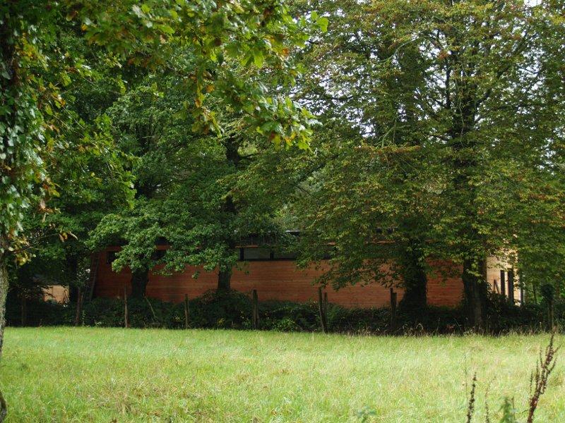 La maison sous les chênes - façade nord-est