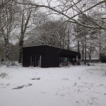 La Maison sous les chênes et sous la neige